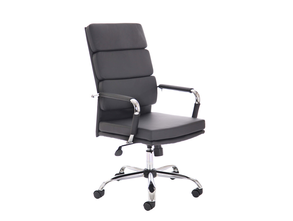 Dynamo-Advocate-Executive-Swivel-Chair-with-Arms-in-Black-Eco-Leather