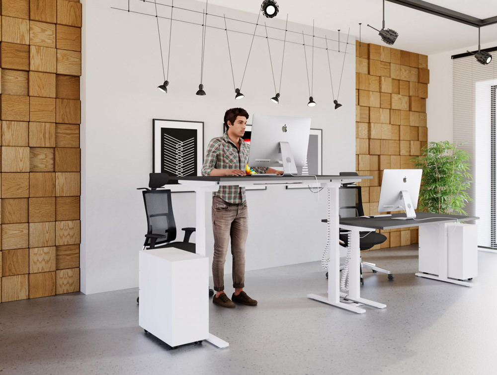 Leap-Electric-Sit-Stand-Single-Desk-in-White-in-Office-Interiors