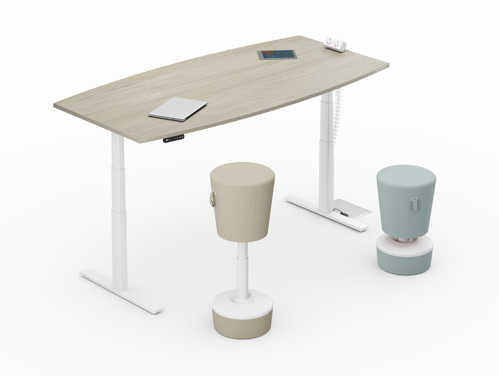 Leap-Electric-Sit-Stand-Single-Wooden-Desk-with-Movement-Chairs