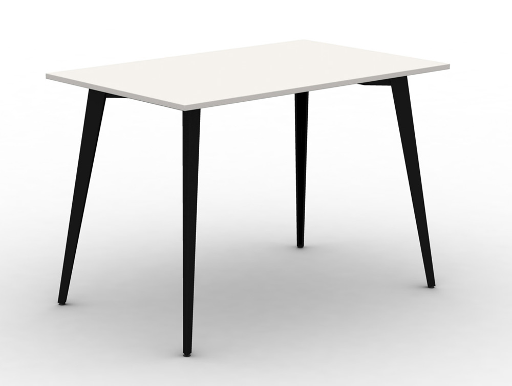 Mobili-Pyramid-High-white-Bench-Desk-with-Steel-Legs