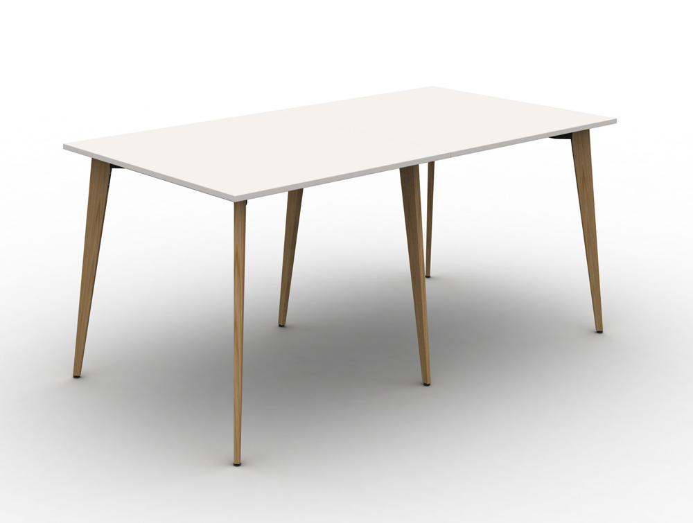 Mobili-Pyramid-4-Seater-High-Desk-with-Wooden-Legs