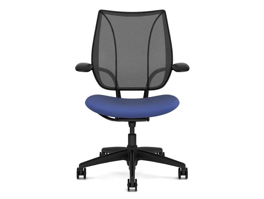 Used Humanscale Liberty Mesh Ergonomic Chair In Blue