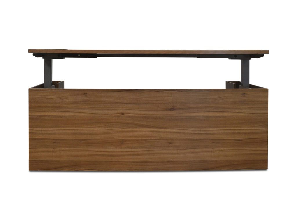 Alto-Executive-Sit-Stand-Electric-Desk-in-Black-Walnut-Raised-Front-View