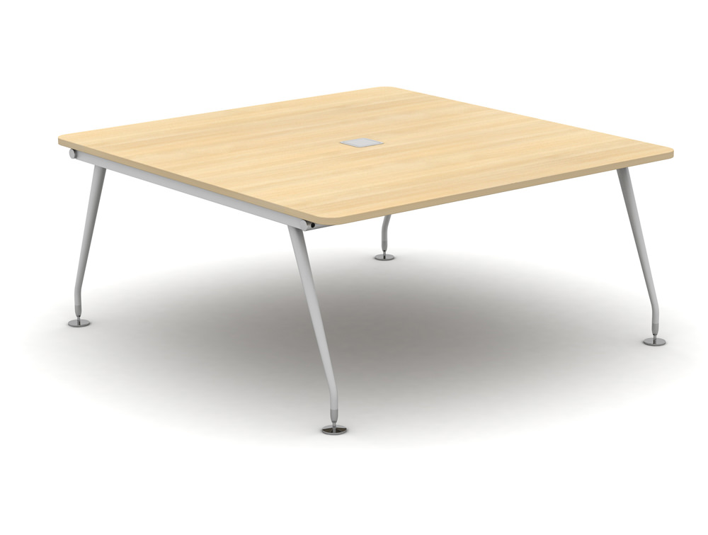 Vega-Bench-Desking-Pod-of-2-Plain-Desk