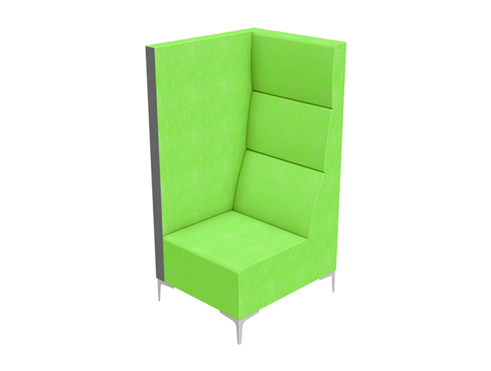 Huddle Modular High Seating Pod Solo Module