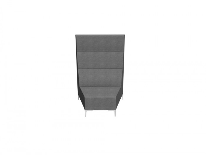 Huddle Modular High Seating Pod Solo Round Module
