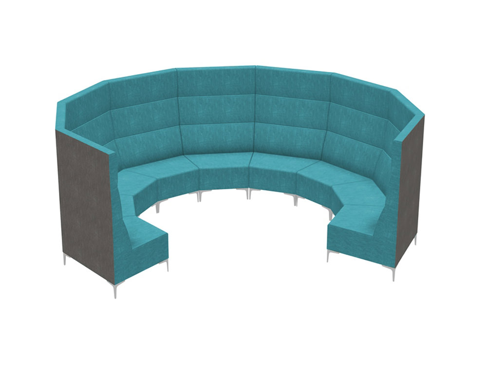 Huddle Modular Circle Seating Pod