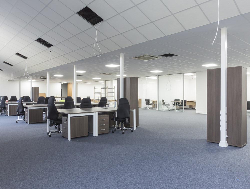classic office floor
