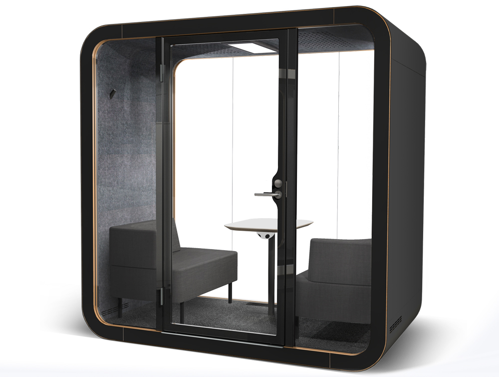 Framery Smart Office Acoustic Meeting Pod in Black
