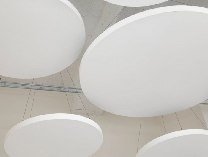 Soundtect Acoustic Circles Ceiling Panel with Environment Friendly Material