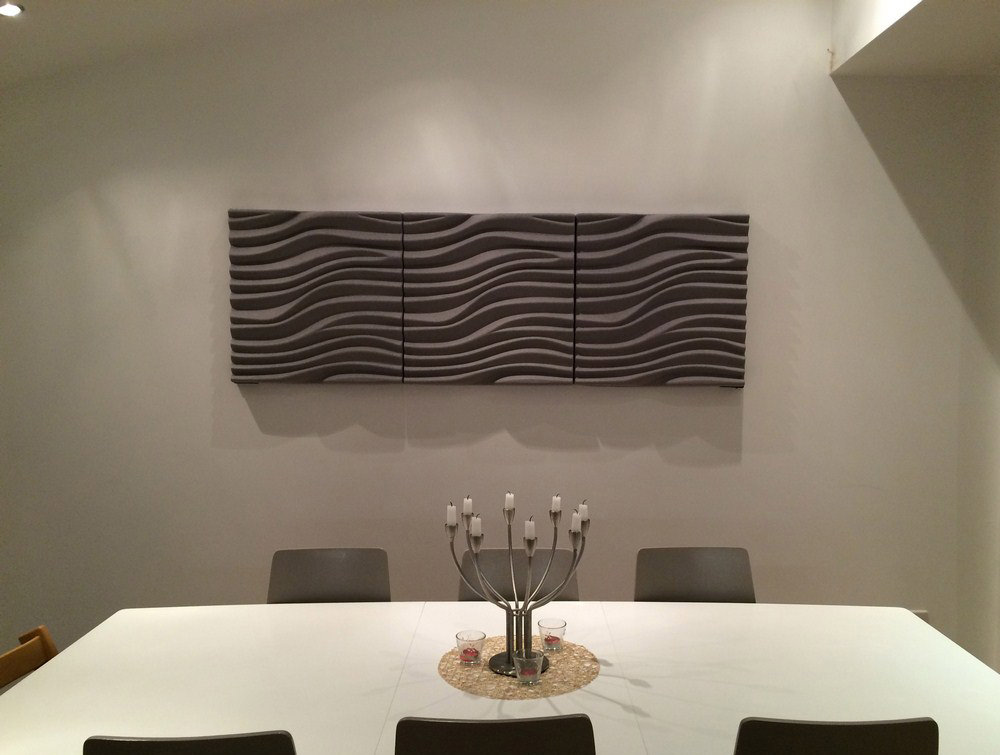 Soundtect Wave 3D Acoustic Wall Panels