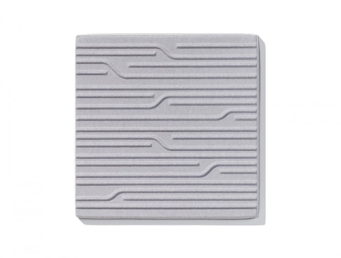 Soundtect Technics Recycled Eco Acoustic Wall Panel Grey