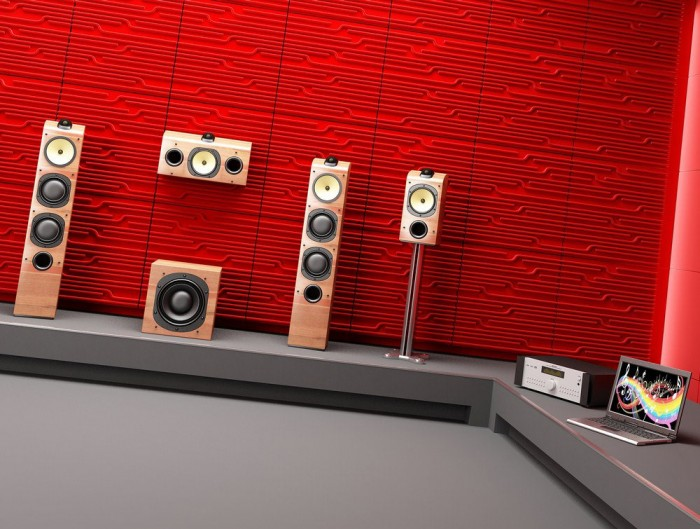 Soundtect Technics Recycled Eco Acoustic Wall Panel Red for Breakout Rooms
