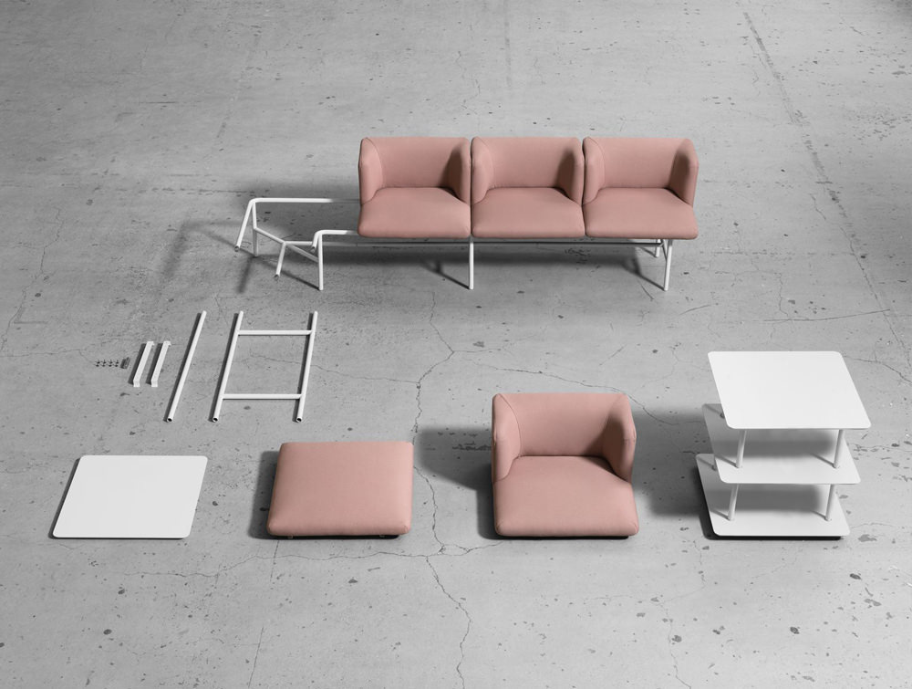 Agora Soft Seating and Bench Modules