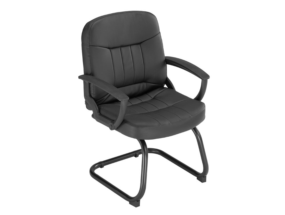 Trexus-County-Visitor-Chair-Cantilever-in-Black-Leather-172386