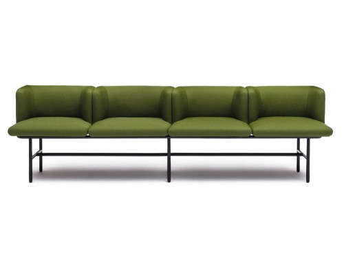 Agora 4 Seater Sofa in Green