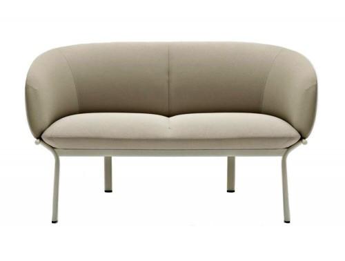 Mdd Grace 2 Seater Sofa in Cream Colour