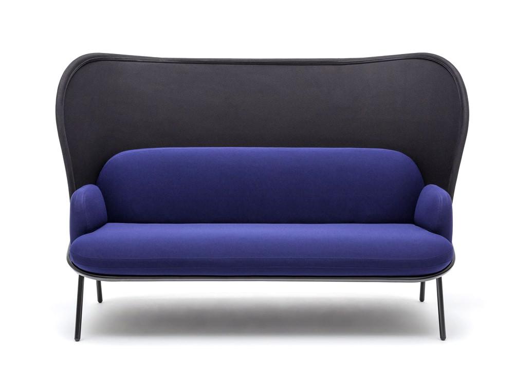 Divan Sofa with High Mesh Shield