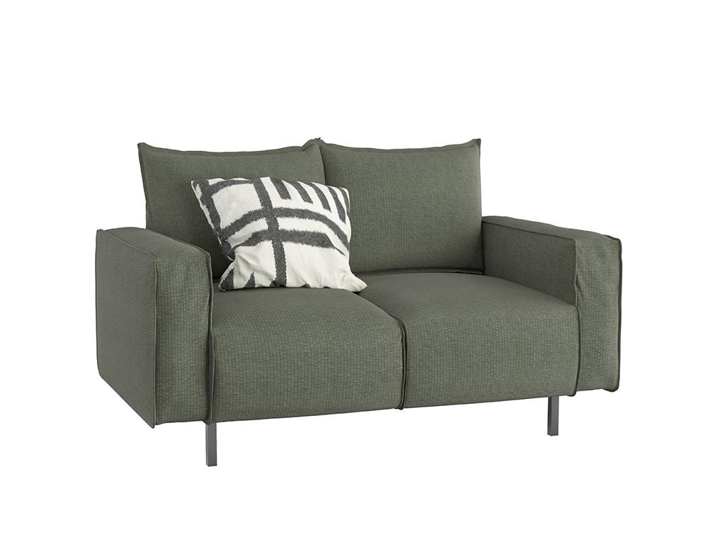 Snug Modern 2-Seater Sofa