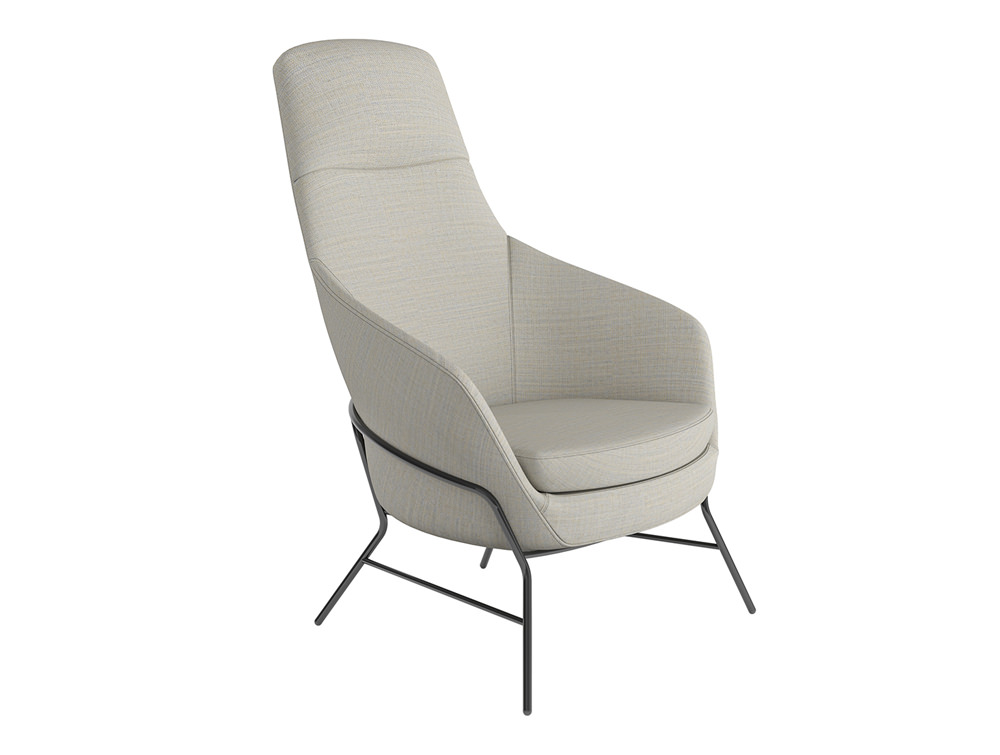 Drive Soft Seating High Back Chair with Metal Legs