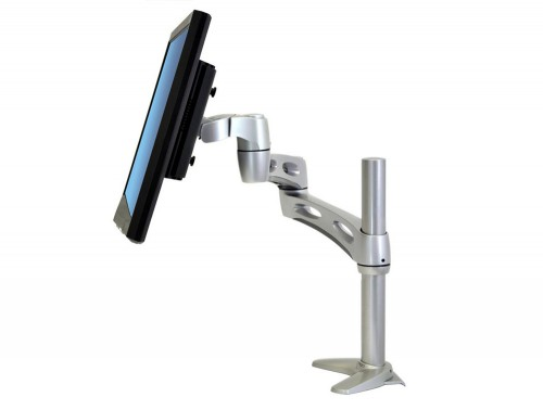 Ergotron Neo Flex Extend Monitor Arm with 3 point Telescoping Mechanism