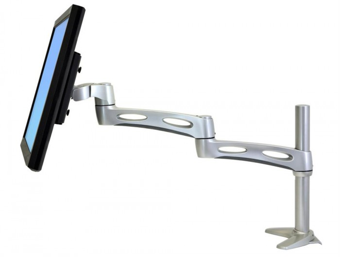 Ergotron Neo Flex Extend Monitor Arm with Computer Monitor