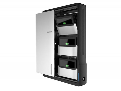 Ergotron Zip12 Charging Wall Cabinet for Mobile Devices