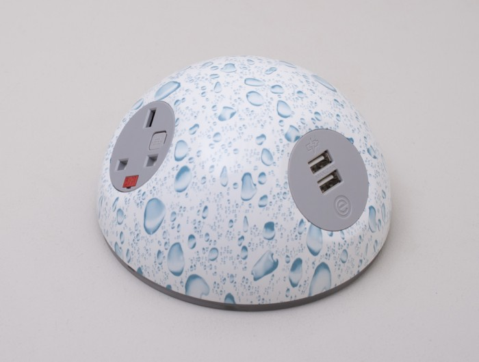 OE Pluto On Surface Power Module with Water Drop Effect and USB Port