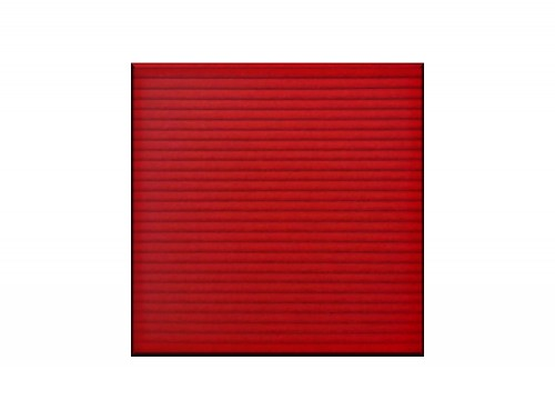 Soundtect Linear Acoustic Wall Panel in Cherry Red