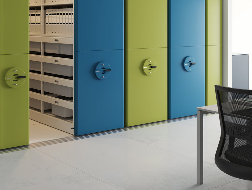 Bisley InnerSpace Mobile Storage System for Open Offices