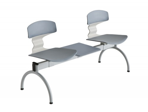 Gaber Tolo Beam Seating with Grey Finish
