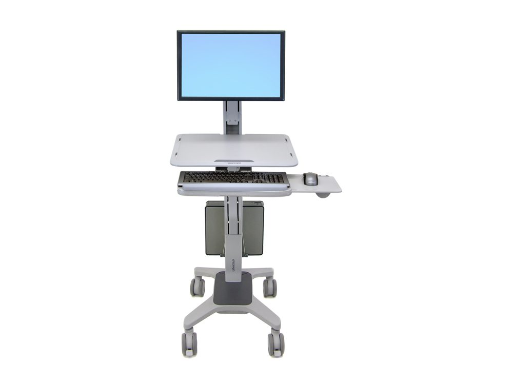 Ergotron WorkFit C Single LD Sit Stand Workstation