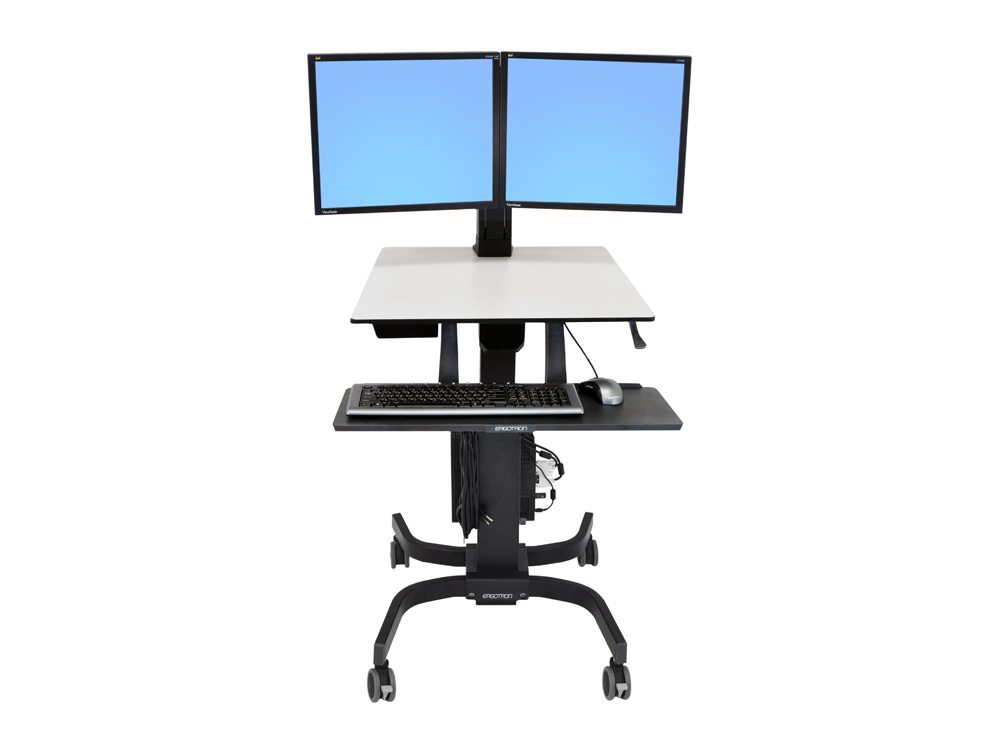 Ergotron WorkFit C Sit-Stand Workstation - LD