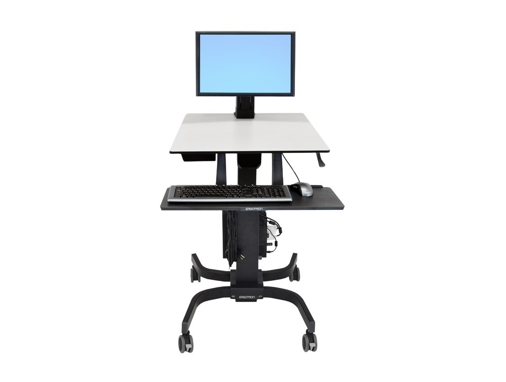 Ergotron WorkFit C Sit-Stand Workstation - HD