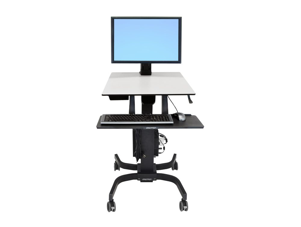 Ergotron WorkFit C Sit-Stand Workstation - Dual