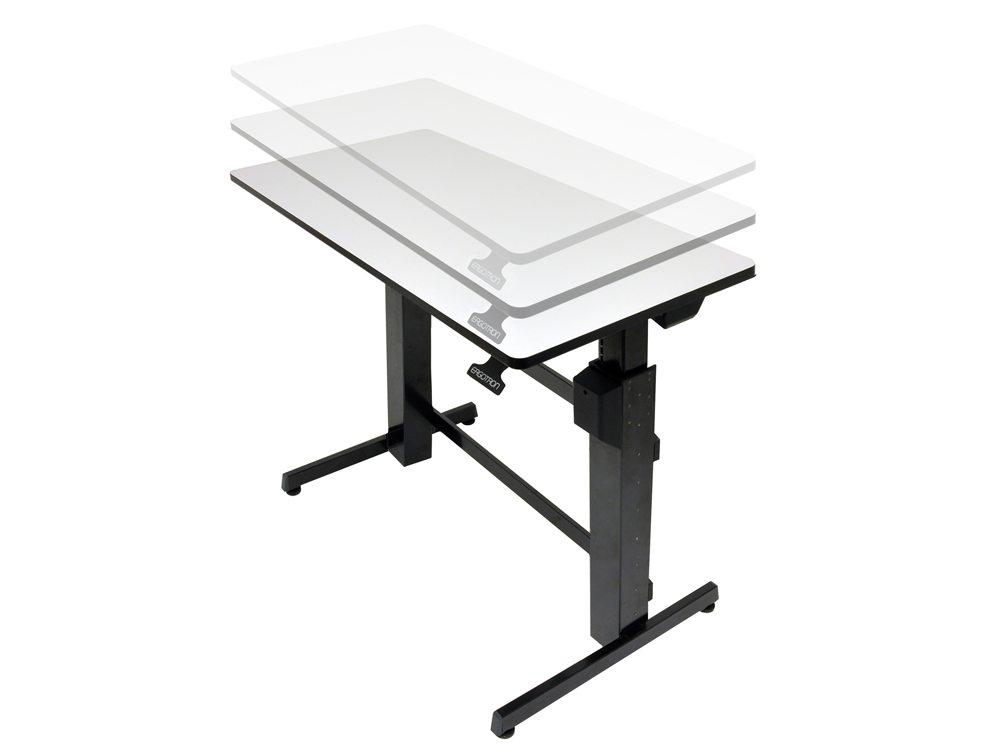 Ergotron WorkFit D Sit Stand desktop workstation