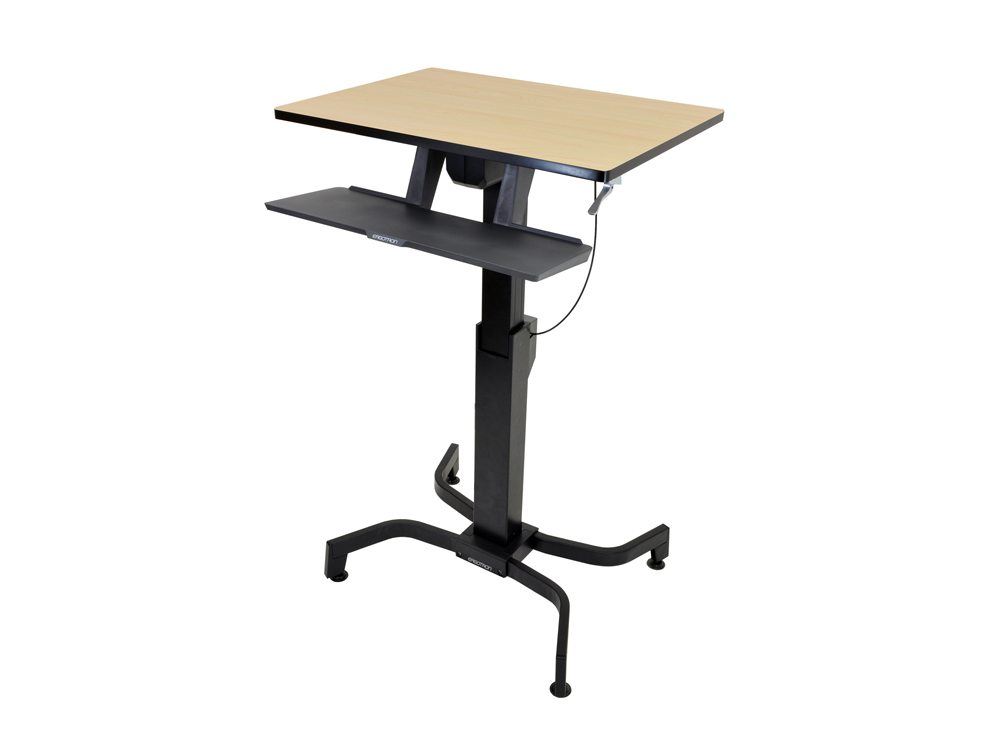 Ergotron WorkFit PD Sit Stand Desk