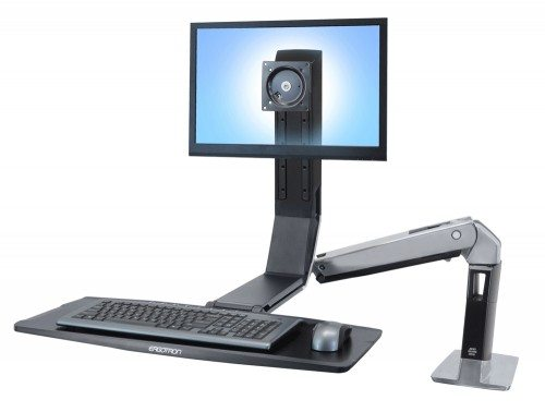 Ergotron WorkFit-A Sit Stand Workstation
