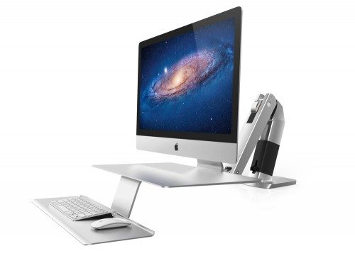Ergotron WorkFit A Sit Stand workstation for apple