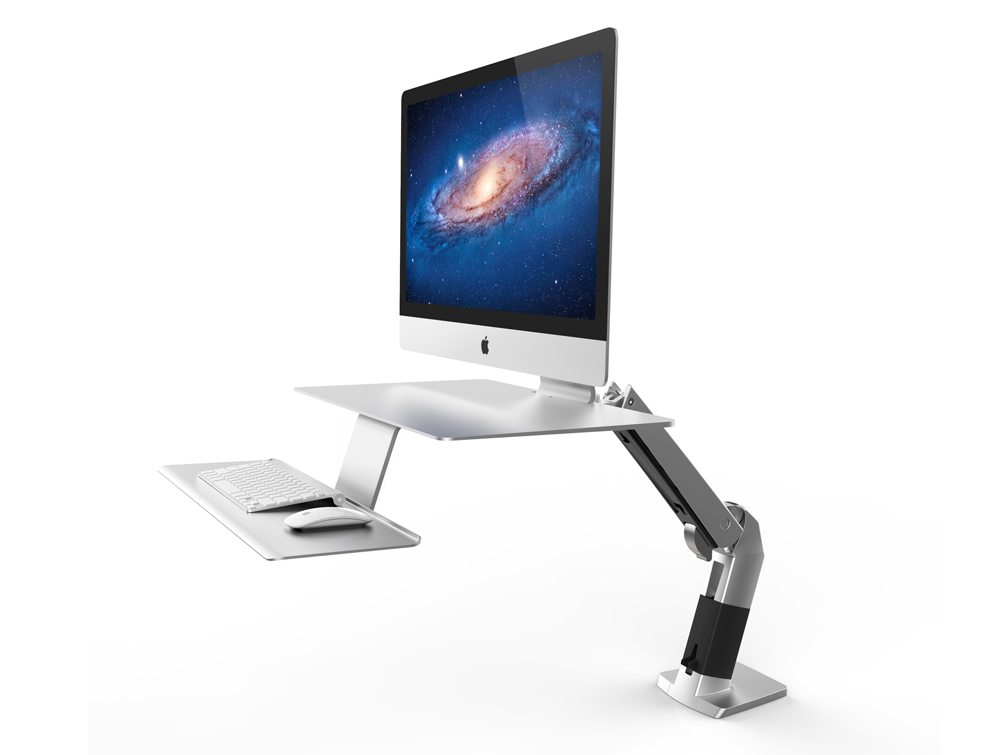 Ergotron WorkFit A Sit Stand workstation for apple