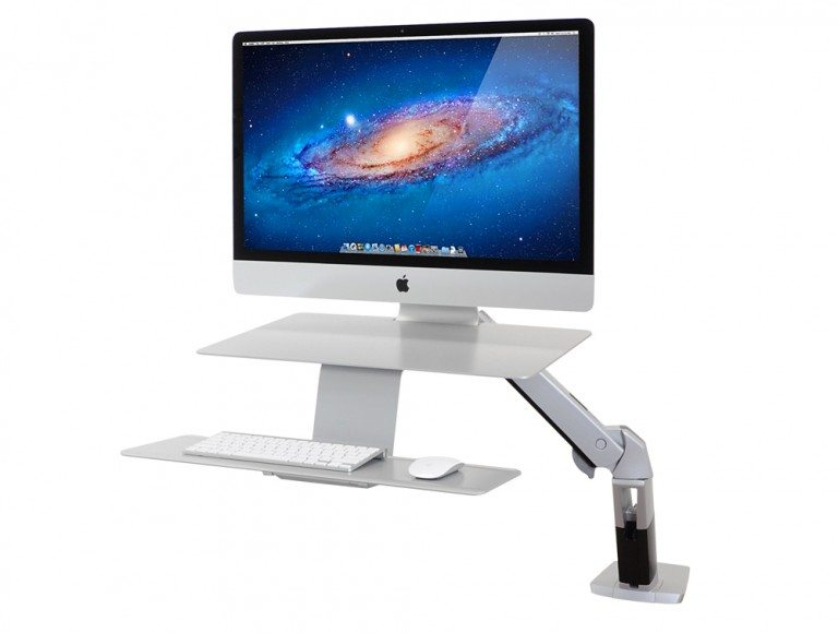 Ergotron WorkFit-A Sit Stand Workstation for Apple