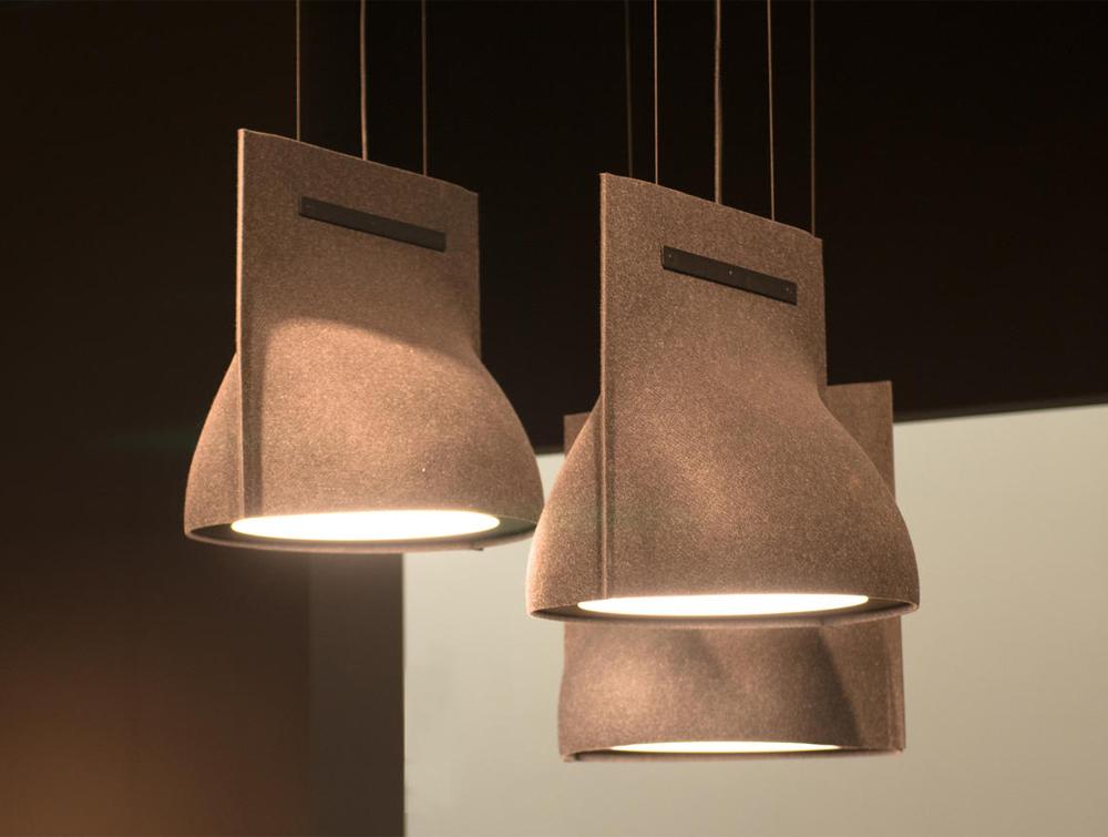 Buzzibell Acoustic Pendant Ceiling Light