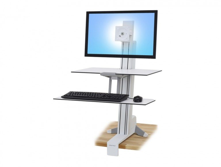 Ergotron WorkFit S Sit Stand Workstation with Worksurface