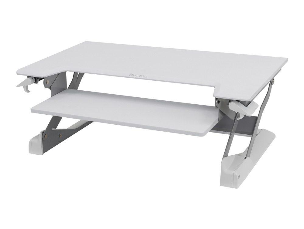 Ergotron WorkFit TL Sit-Stand Desktop Workstation - White