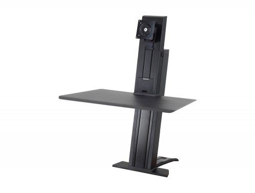 Ergotron WorkFit-SR Sit Stand Workstation with Short Work-surface without monitors