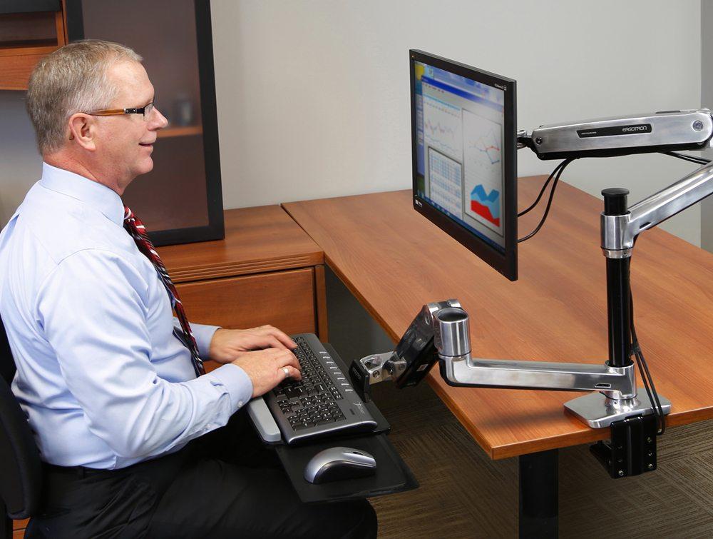 Workfit Lx Sit Stand Desk Mount System