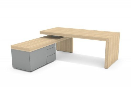 AT-1 Auticca Executive Desk with Return