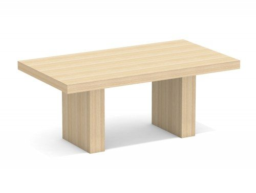 AT-13 Auticca Rectangular Boardroom Table with Panel Legs