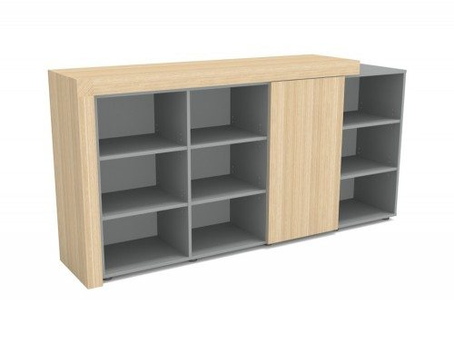 AT-4 Auticca 3-Level Open and Closed Storage Unit