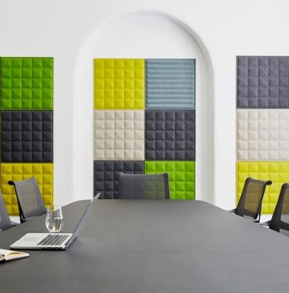 Acoustic Wall Panels in Boardroom